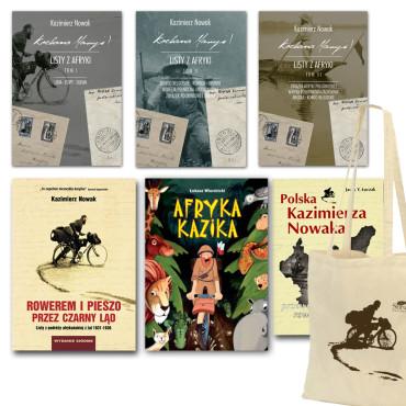 Pakiet książek Kazimierz Nowak